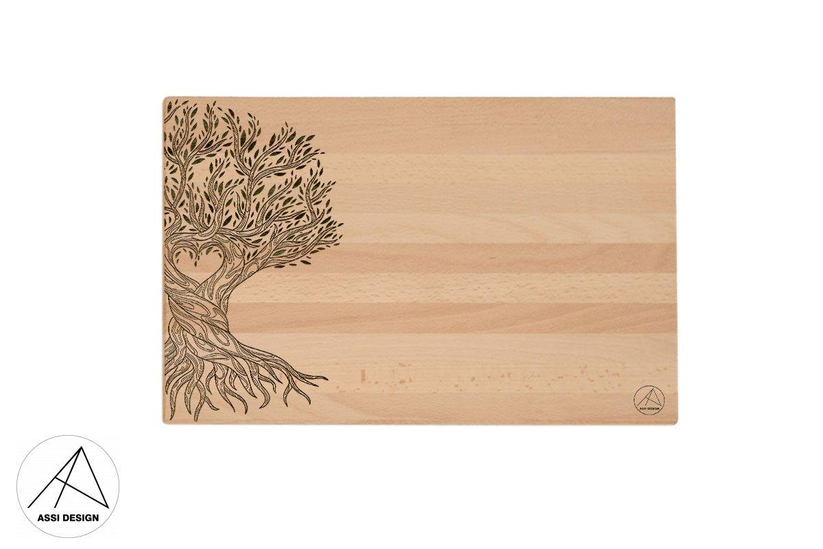Prkénko Strom života 300x200x22 mm