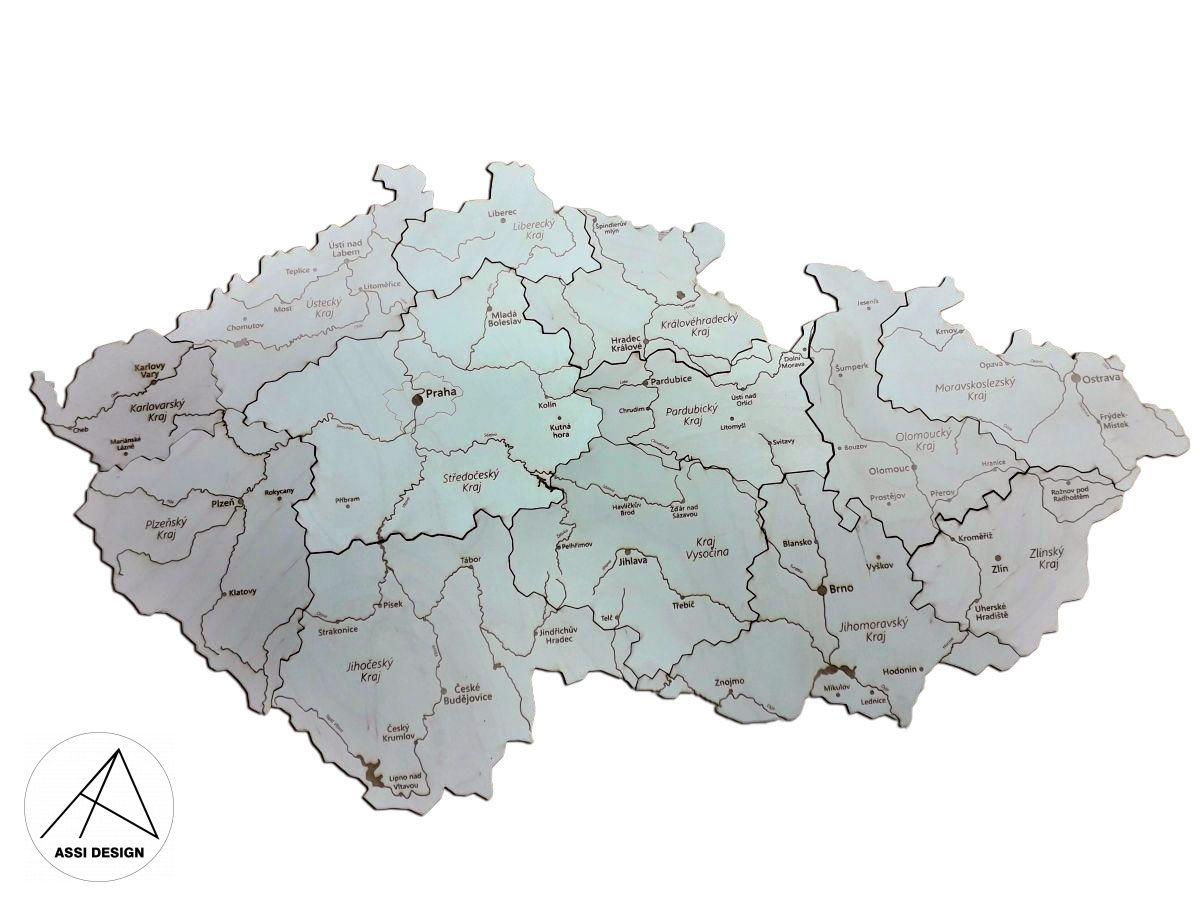 Mapa České republiky
