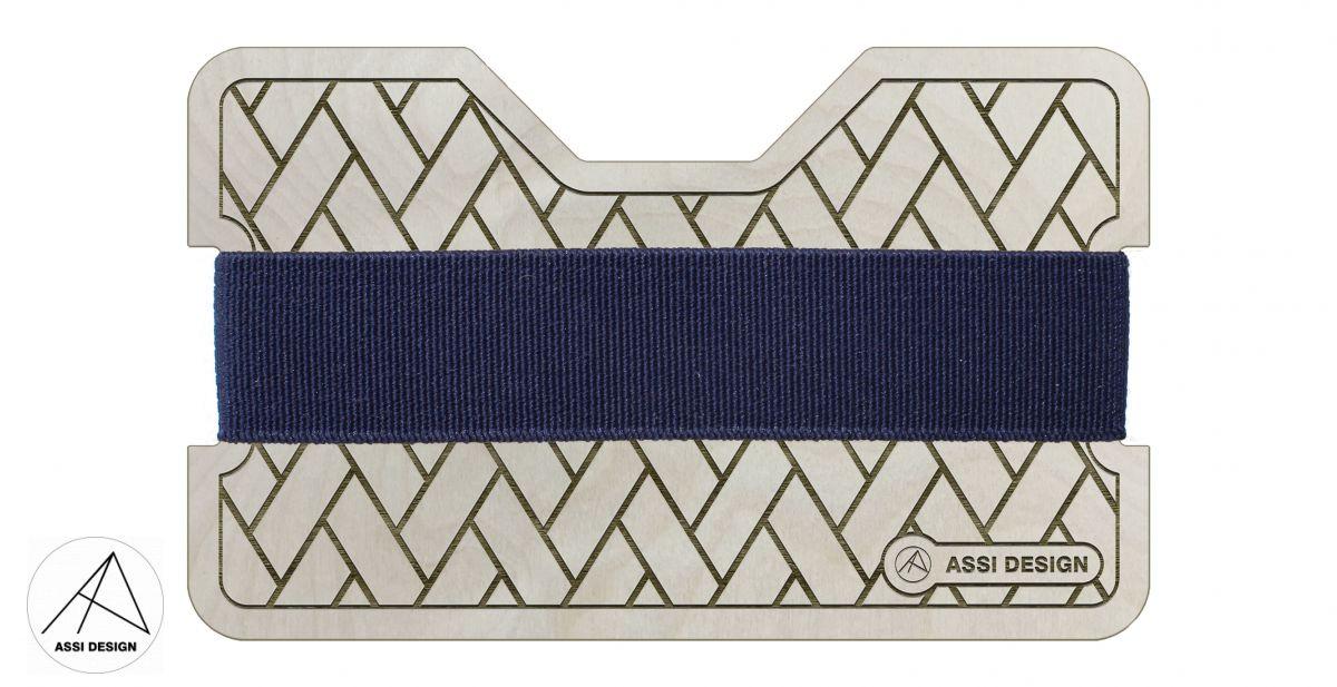 Mini peněženka Látka