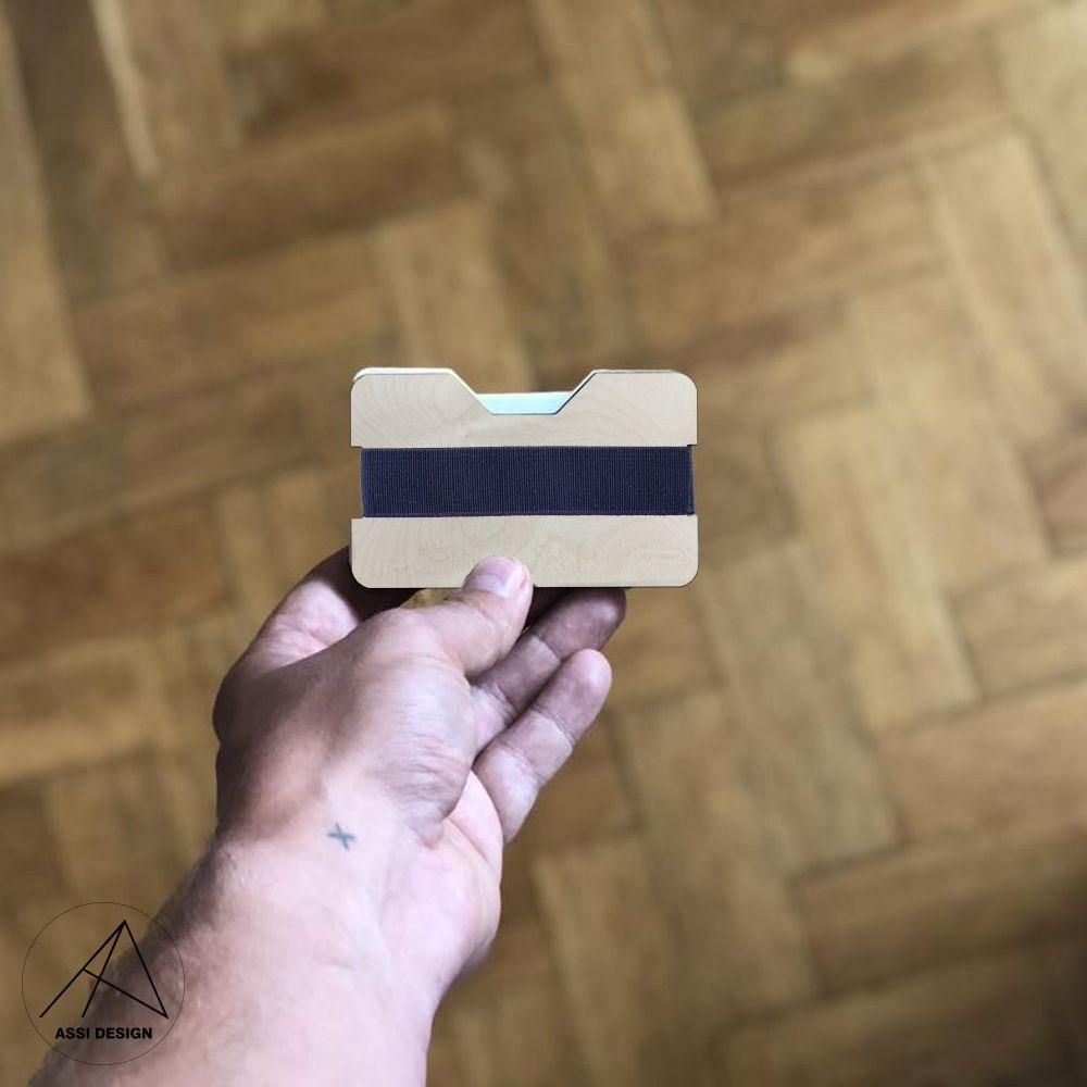 Mini peněženka Přírodní