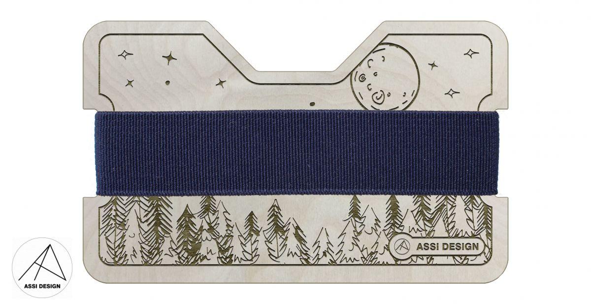 Mini peněženka Les