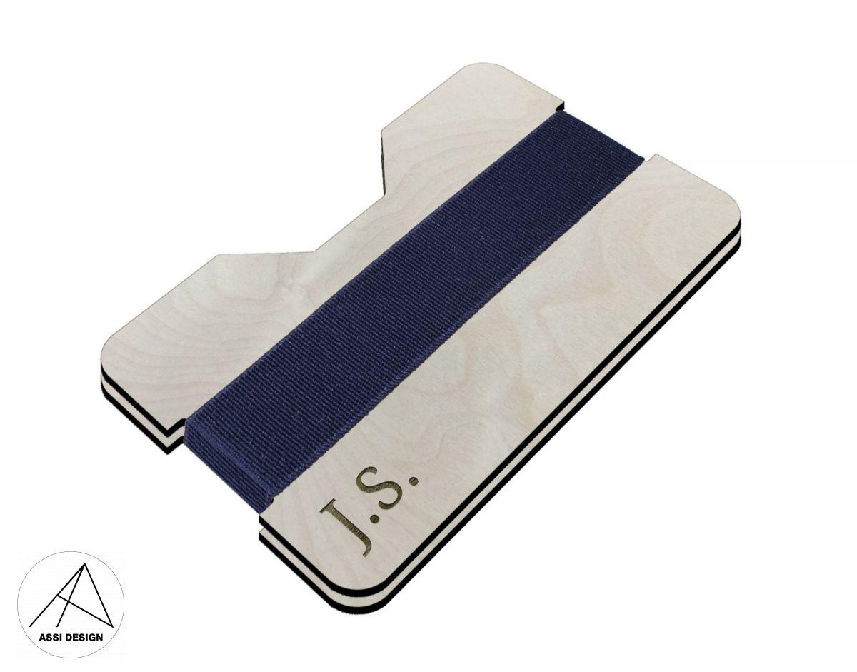 Mini peněženka Iniciály